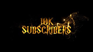 10K Subscribers Special | THANK YOU | Sony Vegas Intro Template