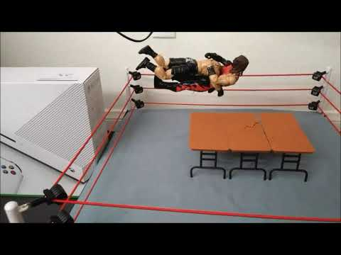 WWE Stop Motion Tests #2 (Animation Sequences)