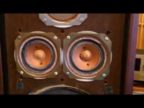Loa KLH 5 + ampli FIsher part2