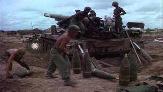 US  Battery D, 3rd Battalion, 13th Artillery, 25th Infantry Division fires M-110 ...HD Stock Footage