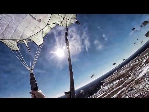 82nd Airborne Jump Over Fort Bragg • GoPro Footage