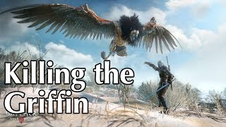 The Witcher 3 - Killing a Griffin!