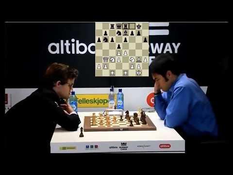 Rook Up A Pawn Endgame!!! Magnus Carlsen Vs Hikaru Nakamura - Blitz Chess 2017 Norway