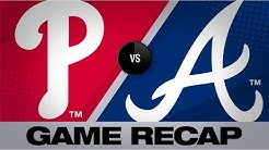 Nola, Bruce lead Phillies to shutout win | Phillies-Braves Game Highlights 7/2/19
