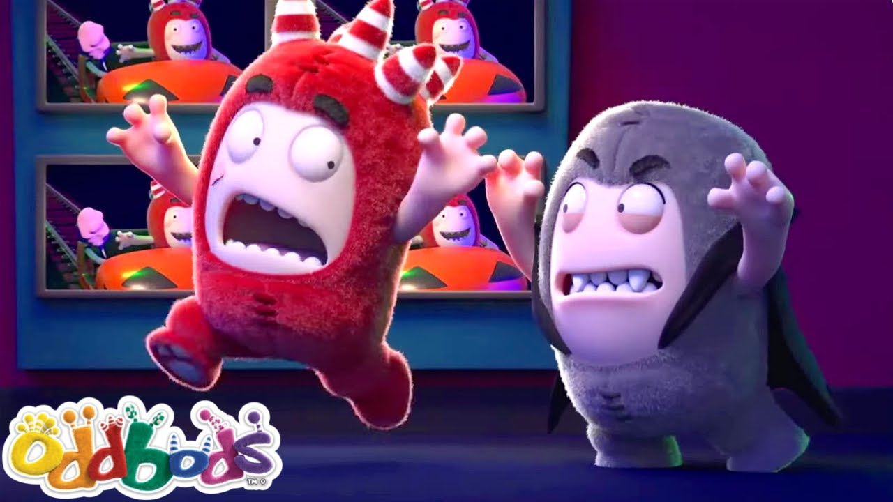 ¡Sobre Magia y Monstruos! | Oddbods | Dibujos Animados Divertidos Para Niños