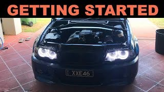 BMW E46 TURBO BUILD | ep 2 | GETTING STARTED