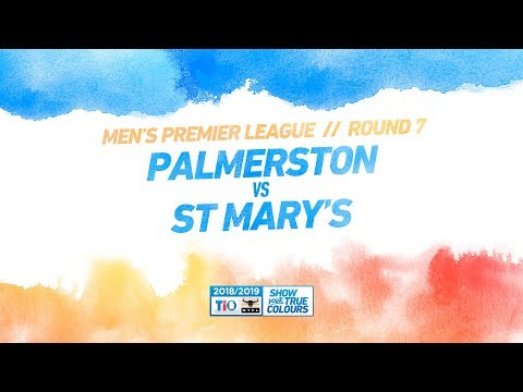 Palmerston vs St Marys: Round 7 - Mens Premier League: 2018/19 TIO NTFL