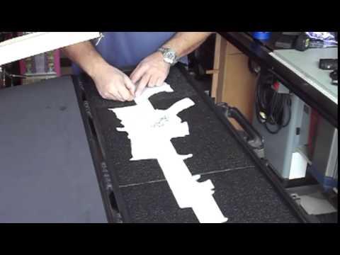 Hot wire foam cutting by MRP - video #3
