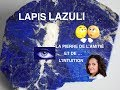 LAPIS LAZULI et sa purification
