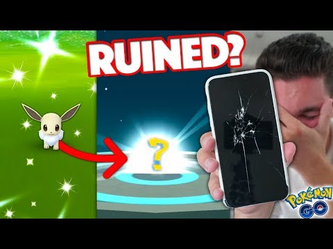 POKÉMON GO POTENTIALLY RUINED THE BEST SHINY EVER… (Breaking my iPhone X)