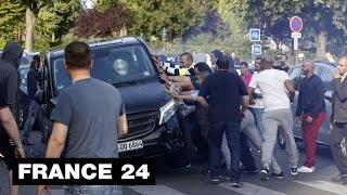 Les taxis en guerre contre UberPop - France