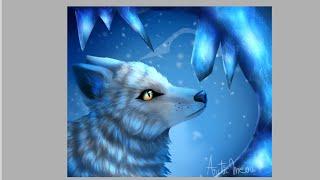 Arctic Fox Speedpaint-Never alone