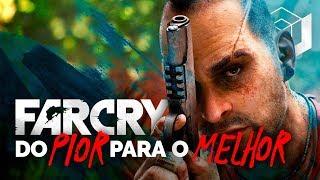 QUAL FAR CRY É O MELHOR? - Ranking do pior ao melhor da série