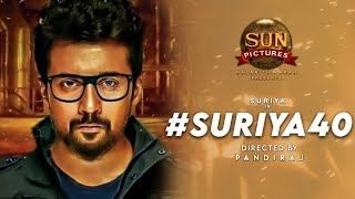 SURIYA40 Officially Announced | Sun Pictures | Pandiraj