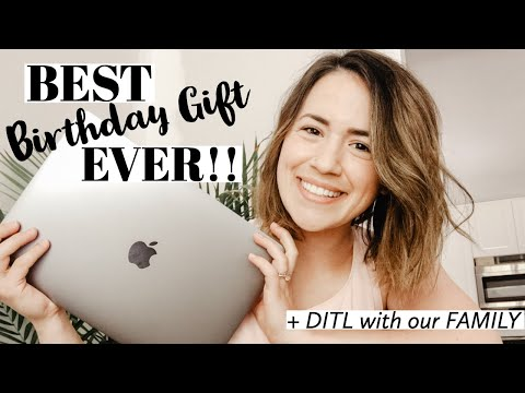 UNBOXING MACBOOK PRO 2019 | Birthday Gift From My Husband | Ashley Hunt