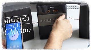 miniwiea LG CM1560 Bluetooth CD MP3 FM USB - prezentacja produktu