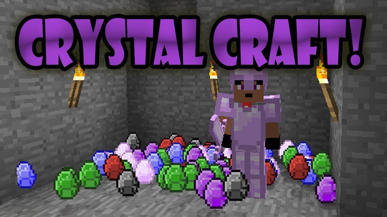 Minecraft Crystal Craft Gem Craft Mod A NEW WAY OF