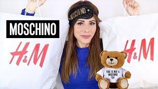 TRY-ON HAUL MOSCHINO X H&M aka QUANTO SI PUO' SPENDERE IN 4 MINUTI ???