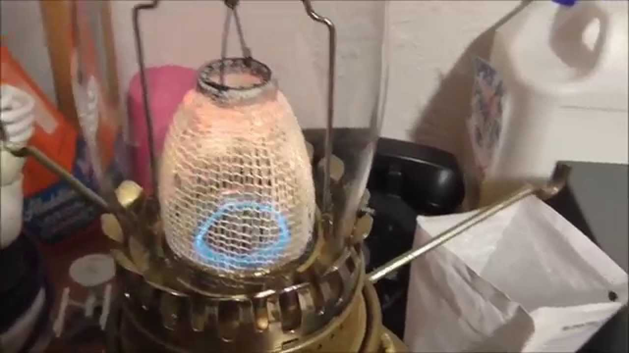 Aladdin 23 Lamp - Mantle Replacement - YouTube