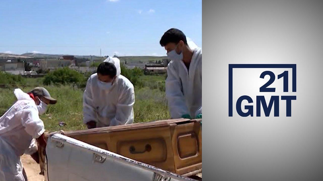 عاملو النظافة ودفن الموتى في تونس يطالبون المسؤولين بحمايتهم من الوباء  - 06:56-2021 / 4 / 25