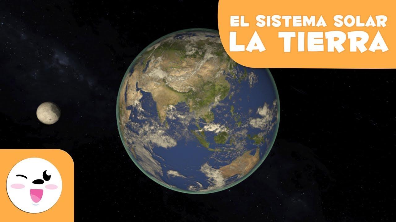 El Planeta Tierra El Sistema Solar En 3d Para Niños