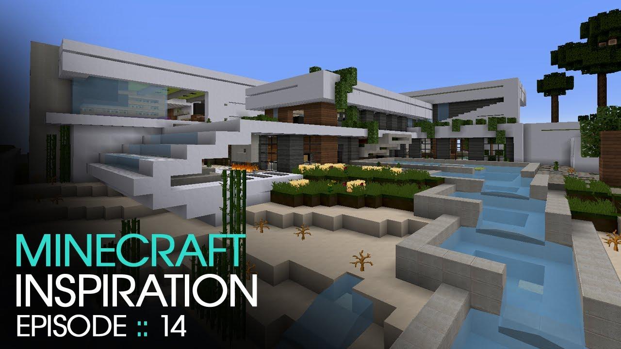 Minecraft Modern Manor Inspiration W Keralis YouTube