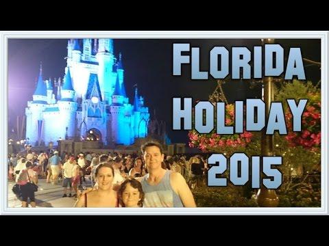 Florida Holiday 2015 - Part 1 Walt Disney World