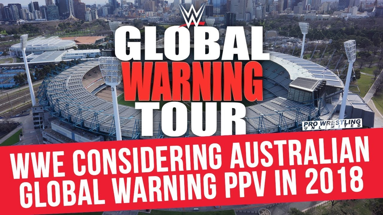 wwe global warning tour melbourne 2018에 대한 이미지 검색결과