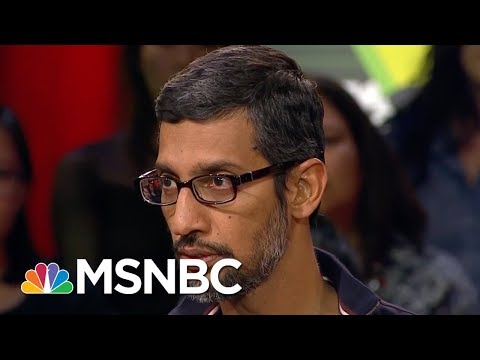 Google CEO Sundar Pichai: 'No Issues' With Freeing Female Employees From NDAs | MSNBC