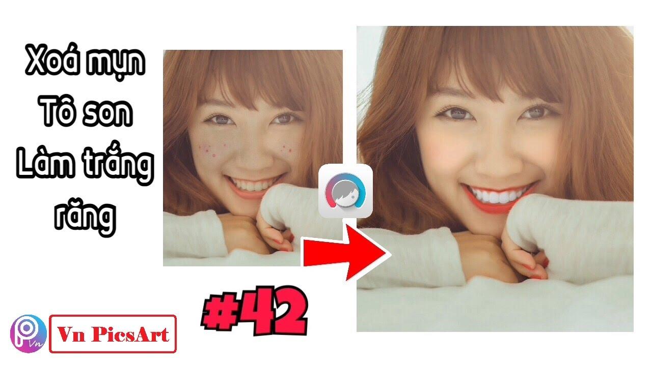 【 Facetune 】Hướng dẫn Xóa mụn, Tô son, Làm trắng răng bằng Điện thoại | Facetune Editing
