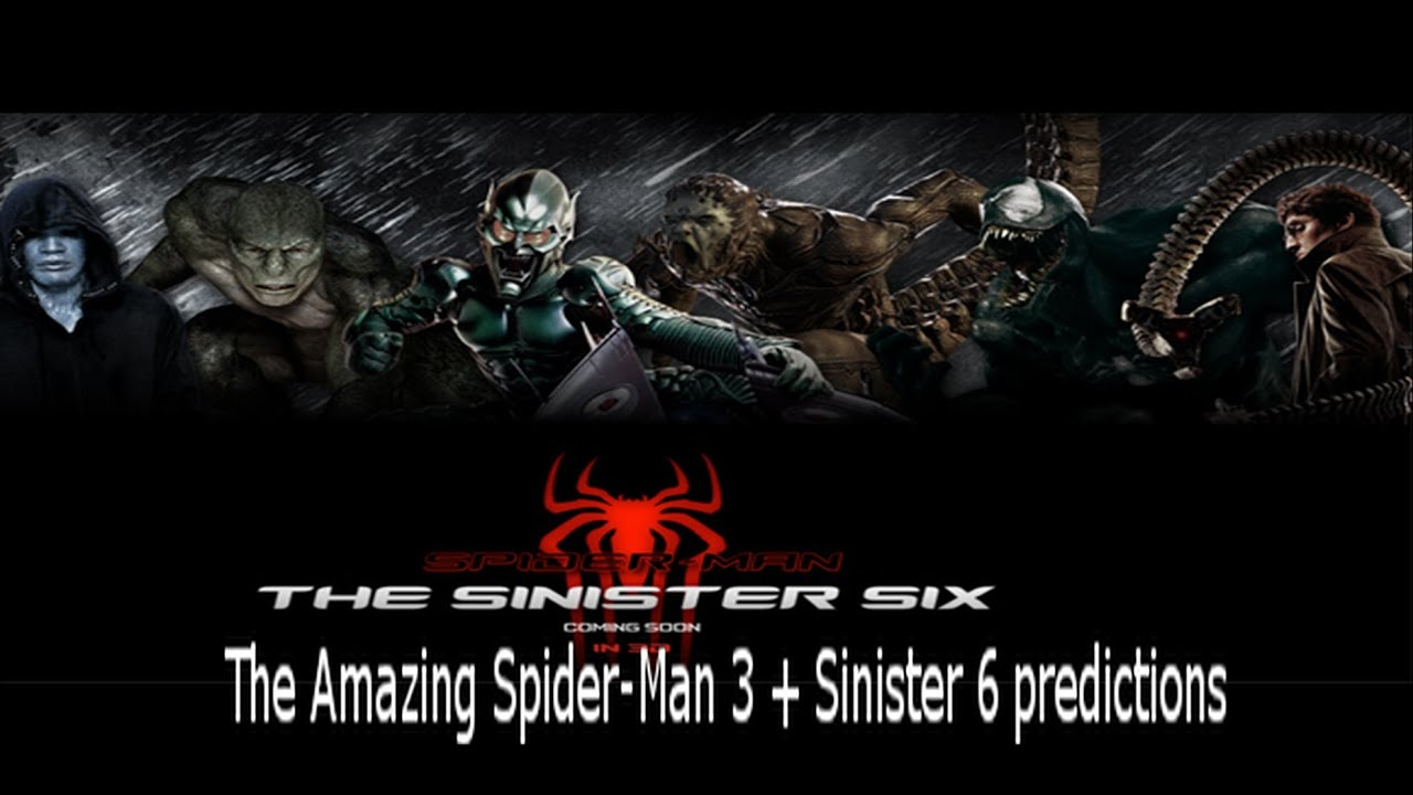 The Amazing Spider-Man 3 + Sinister Six Predictions - YouTube