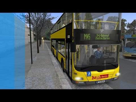 OMSI: 2 - Route M45 [AI Route] X10-Berlin |