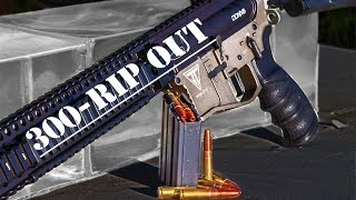 300 RIP OUT--G2 Research: GY6 Ballistics Test #11