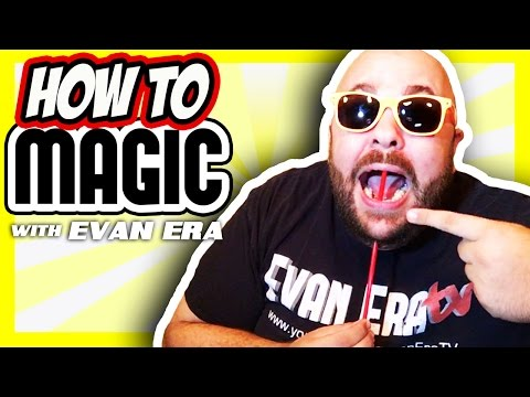 10 Magic Tricks with Straws