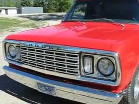 78 shortbox dodge d100 for sale - YouTube
