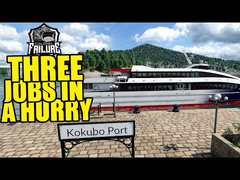 Knocking out quick jobs   Transport Fever 2 Japan part 17