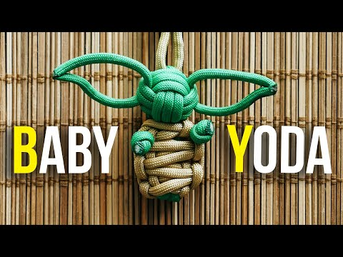 JROD - Here's How You Can Make Your Own Paracord Version Of Baby Yoda