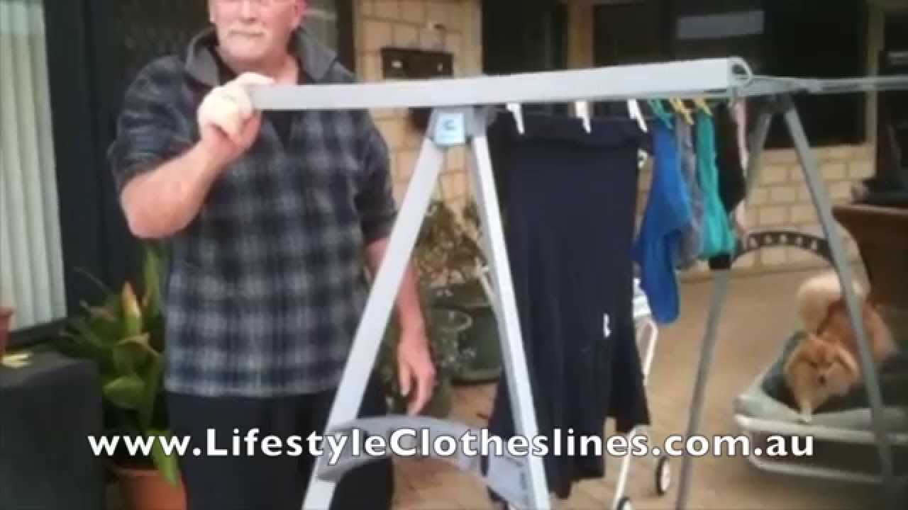 Hills Portable 170 Clothesline Review By Barry Piggot. Lifestyle  Clotheslines