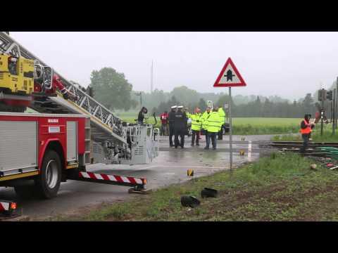 16-05-2015 Ernstig treinongeval Ibbenburen 2 doden, 20 gewonden.