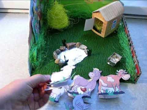 Макет фермы для детского сада своими руками