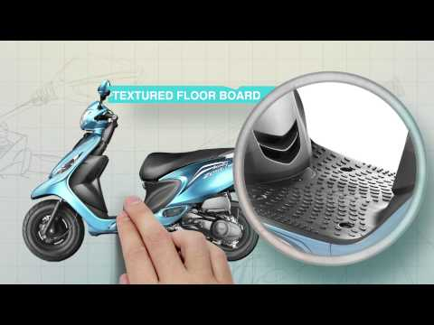 TVS Scooty Zest 110- Best of both worlds promo/ All New TVS Scooty Zest 110 - Feature Showcase.