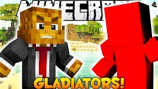 Minecraft GLADIATORS TOURNAMENT Minigame (BEST PVP EVER)