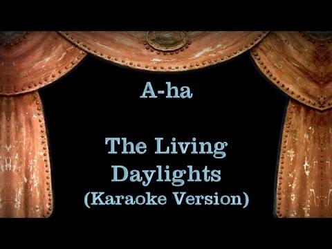 A-ha - The Living Daylights - Lyrics (Karaoke Version)