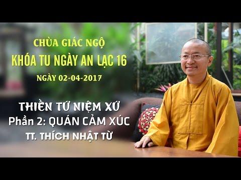 Thiền Tứ Niệm Xứ - Phần 2: Quán Cảm Xúc