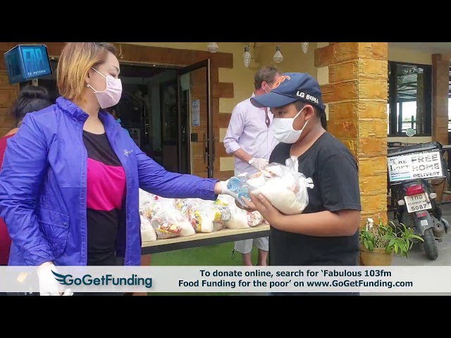 DONATIONS TO THOSE IN NEED - To donate, search for Fabulous 103fm on GoGetFunding.com