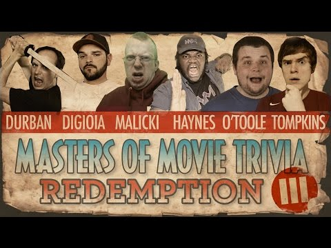 Masters of Movie Trivia #3: Redemption  (Matthew V Haynes, Tyler Tompkins, Durbania, Ryan O'Toole)