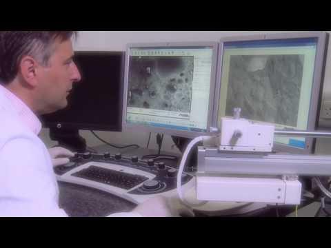 Microscopic measurements: Mondelez International Global Science and Technology Research Centre