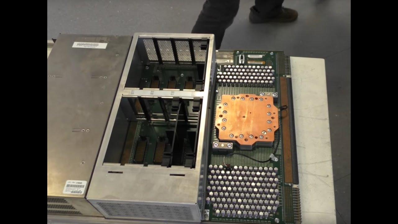 IBM Z9 Mainframe Computer Teardown (PWJ31)