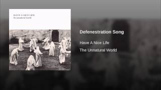 Defenestration Song