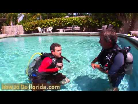 How To Do Scuba Diving - Pool Lesson